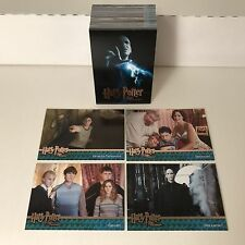 HARRY POTTER & THE ORDER OF THE PHOENIX UPDATE EDITION Complete Trading Card Set