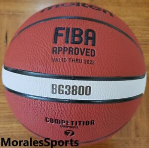 Molten B7G3800 Basketball Comp Leather FIBA  Size 7 - 29.5 BG3800 Series GM7X
