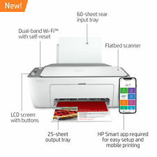 New HP DeskJet 2722 All in One Wireless Color Inkjet Printer Instant Ink Ready