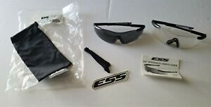 ESS Military Issue ICE 2X Custom Fit Frameless Eye Protection 740-0004 NEW