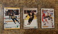 (3) Jaromir Jagr 1990-91 Score 1991-92 Young Superstar Upper Rookie card lot RC