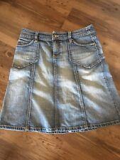ESPRIT Jeans Rock Jeansrock blau denim A-Linie Größe 38  M
