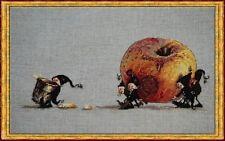 Nimue Cross Stitch Chart # 70 - Pomme a Cidre - Apple