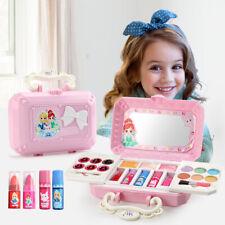 Princess Makeup Set Toy For Kids Cosmetic Girls Kit Eyeshadow Lip Gloss Kit NEW