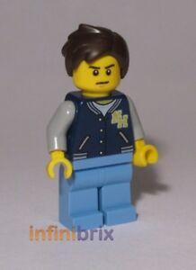 Lego Chad Minifigure from set 70657 Ninjago NEW njo435