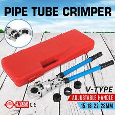 Vevor Copper Pipe Press Crimp Tool Ø15-28mm Jaw-Viega,MrPex,Propress,Elkhart