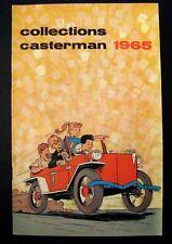 Casterman catalogue 1965 Couverture de Craenhals TBE
