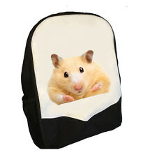 HAMSTER BACK PACK BAG KNAPSACK RUCKSACK  PERFECT 4 SCHOOL BMS CUTE PET