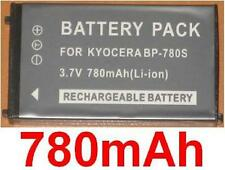 Battery 780mAh type BP-780S BP780S For Kyocera Contax SL300RT