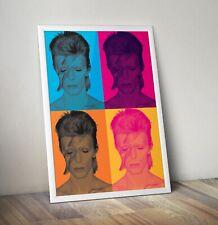 More details for david bowie print, bowie pop art, bowie art, david bowie art print