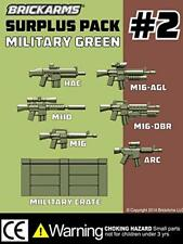 BrickArms Custom Surplus Pack #2 Army Military designed for LEGO Minifigure