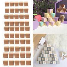 10 Stück Buche Holz runde Stöcke Stangen DIY Tapisserie Home Decor Craft KindWP4