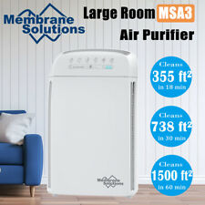 MSA3 Air Purifier with Medical Grade H13 Filters for Large Room 1500 Sq.Ft
