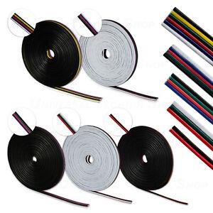 2-6 Pol adriges LED Kabel, Verlängerungskabel, Verbindung, RGB, RGBW, RGBWW