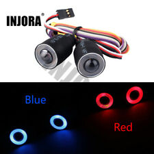 LED Light Headlight for 1/10 RC Rock Crawler Car Axial SCX10 D90 Jeep Wrangler