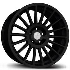 Avid1 AV54 18x8.5 +30 5x100 Black FRS BRZ Matrix Celica Impreza TC Corolla XD