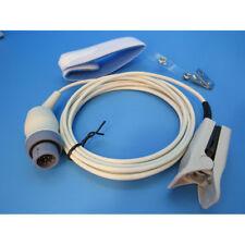 New Hewlett Packard HP Philips SpO2 Oximeter Finger Sensor USA 1 Year Warranty