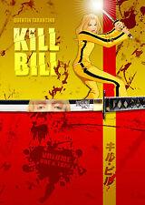 A4 poster-kill Bill 1 & 2 (Blu-ray Película Dvd Película De Quentin Tarantino Uma Thurman)