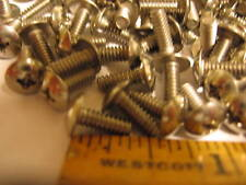 "6-32 x 3/8"" Stainless Steel Phillips Head Screw"