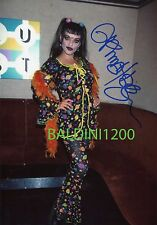 NINA HAGEN SIGNED 10X8 PHOTO, GREAT STUDIO SHOT IMAGE, LOOKS GREAT FRAMED