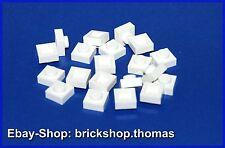 LEGO 20 x plaque (1 x 1) - 3024 Blanc-plates white-Neuf/New