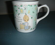 Precious Moments Merry Christmas Teacher Enesco Collection 1993 Cup Mug Thailand