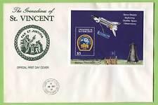 SAINT Vincent / Grenadine 1991 Corea grande occasione di incontro / SP MINI FOGLIO su grandi primo giorno di copertura