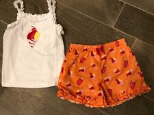 Gymboree Little Girl Summer Snow Cone pajamas gymmies pjs new Nwt size Small New