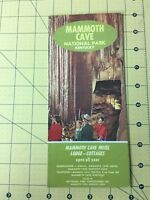 Vintage Travel Brochure Mammoth Cave National Park Kentucky Hotel and Cottages