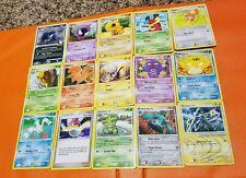 15 Pokemon Card lot from Platinum to Pokemon Rumble SET