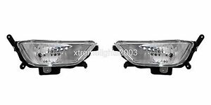 FITS FOR KIA OPTIMA HYBRID 2011-2013 LEFT RIGHT FOG LIGHTS DRIVING LAMPS PAIR