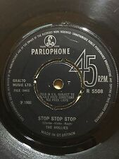 THE HOLLIES STOP STOP STOP PARLOPHONE RECORDS 5508