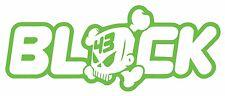 Cráneo de bloque 43-Ken Block calcomanías decorativas Corte De Vinilo 150 x60mm-entrega UK LIBRE