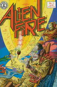 Alien Fire #1 FN; Kitchen Sink | save on shipping - details inside