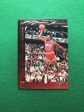 Michael Jordan Upper Deck 1987-88 Slam Dunk Champion Card #39