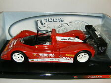 RARE FERRARI 333 SP DANKA N° 17 par Magic Models sur Base Mattel HW au 1/18