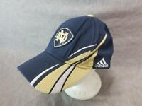 Notre Dame Fighting Irish Hat Cap Adjustable Blue Gold 6 Panel
