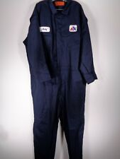 American Airlines Mechanic Coverall Jumpsuit Size 58 R 5X GCA Navy NOS AA
