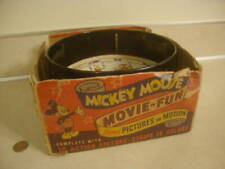 Early Vintage Disney Collectible Mickey Mouse Movie Pictures Action Toy Zoetrope