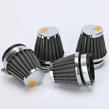 4x 50mm Air Filter For Kawasaki Suzuki KTM Motorcycle Scooters Cruisers Choppers