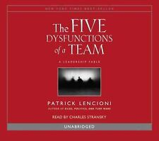 The Five Dysfunctions of a Team by Patrick Lencioni (2006, CD, Unabridged)