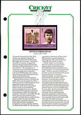 Tuvalu, Arthur Shrewsbury Cricket Stamps MNH On Info Page #V4761