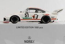 1 18 NOREV Porsche 935 #51 DRM Zolder Wollek 1977 Vaillant