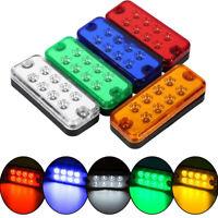 2/6/10x Orange Marker Side LED Trailer Truck Recovery Position Lights Lamps 12V