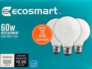 60-Watt Equivalent G25 Globe Dimmable Energy Star Soft White Glass