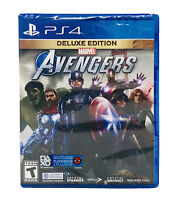 Marvel's Avengers: Deluxe Edition PlayStation 4 video Game Sony (PS4) 92282 NEW