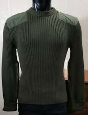US Marine Corps Commando Mens Olive Green Wool Knitted Sweater Military 40