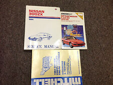 1984 NISSAN 300ZX 300 ZX Service Repair Shop Manual Factory Set W Extras OEM