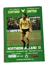 More details for 1987 billy hamilton testimonial feat george best oxford v n ireland x1
