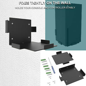For Xbox Series X Game Console Accessories Full Metal Wall Mount Bracket Holder